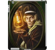 Grave Digger Framed Portrait, Haunted Mansion Series by Topher Adam The Dark Noveler iPad Case/Skin