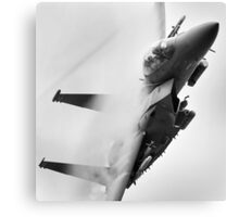 F15 on a tight turn Canvas Print
