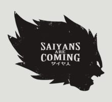 Saiyans Are Coming by Baznet