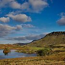 Cregennan lake and Cader Idris by Rory Trappe