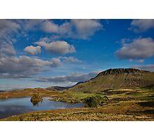 Cregennan lake and Cader Idris Photographic Print