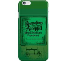 Reservations Accepted design by Topher Adam iPhone Case/Skin