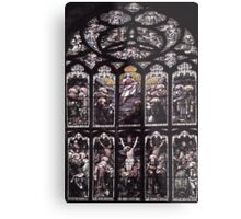 Life of Christ Stained Glass Window - St Giles' Cathedral Metal Print