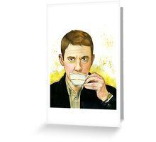 Dr. Watson Greeting Card