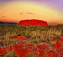 The magic of Uluru by vadim19