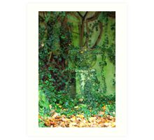 The Green Garden Art Print