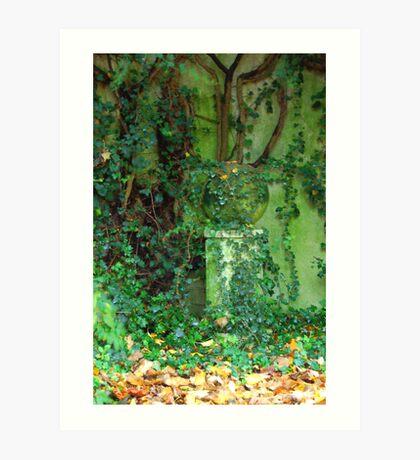 The Green Garden Art Print