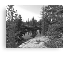 Chewing Gum Lake, Sierras Canvas Print