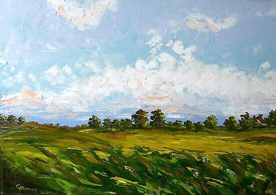 Summer Day by Claudia Hansen