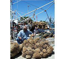 Sponge Docks Photographic Print