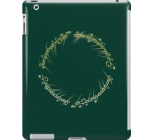 Elvish Ring iPad Case/Skin