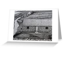 The Comfort of Thatched Roofs Greeting Card