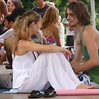 Candid Yoga Chit Chat ... by Danceintherain