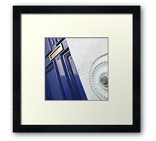 The Door (Press to Enter) Framed Print