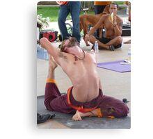 Advanced Yoga Position Series Canvas Print
