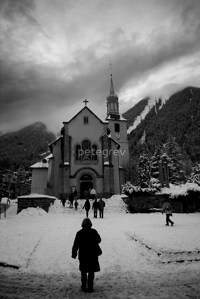 Going to Church by petegrev