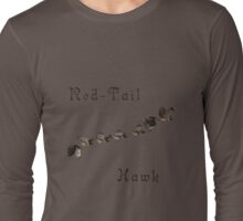 Red- Tail Hawk In Motion Tee Long Sleeve T-Shirt