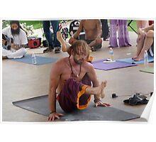Advanced Yoga Pose Series Poster