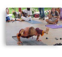 Advanced Yoga Positions Series ... Canvas Print