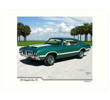 1970 Oldsmobile Cutlass 442 Art Print