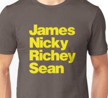Manics - yellow Unisex T-Shirt