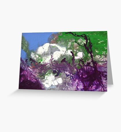 Willow Rock Greeting Card