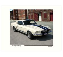 1967 Ford Mustang Shelby Art Print