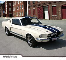 1967 Ford Mustang Shelby Photographic Print