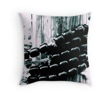 Wrapped up tight Throw Pillow