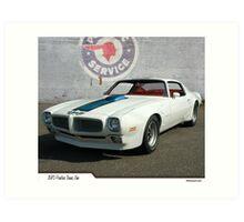 1970 Pontiac Trans Am Art Print