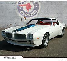 1970 Pontiac Trans Am Photographic Print