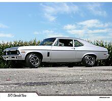 1970 Chevrolet Nova Photographic Print