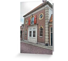 Just a house with doors and windows :) Greeting Card