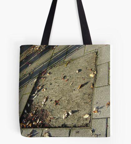autumn quadrilateral (pavement in Fall, Burntisland) Tote Bag