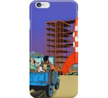 Tintin - Destination moon iPhone Case/Skin