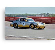 Silver Porsche 911 Canvas Print
