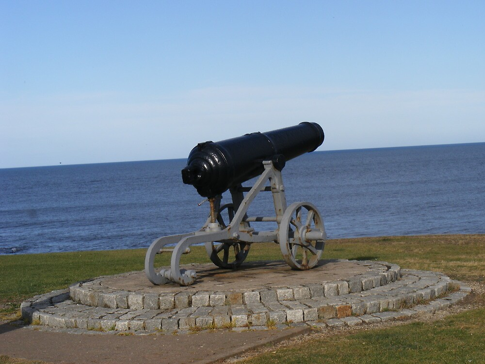 Retired Cannon by the Sea by KennethWright
