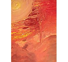 Autumn Abstract Tree Photographic Print