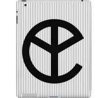 Yellow Claw Logo Black II iPad Case/Skin
