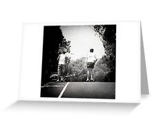 skatehillsquare Greeting Card