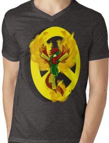 Phoenix Pony Mens V-Neck T-Shirt