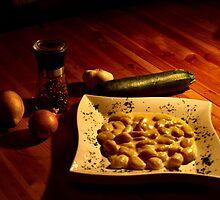 Gnocchi in Gorgonzola sauce by Dirk Pagel