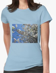 Blossoms of Spring Womens Fitted T-Shirt