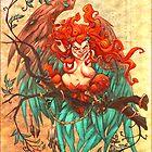 Burlesque Harpy by Tiffany Turrill