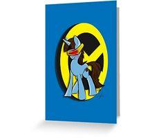 Cy-Pony Greeting Card