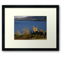Urquhart Castle at Dusk Framed Print