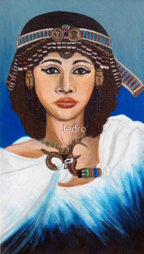 Queen Ankhesenamun by Jedro