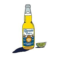 Corona with Lime by haley2925