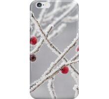 frozen berries iPhone Case/Skin