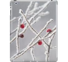 frozen berries iPad Case/Skin